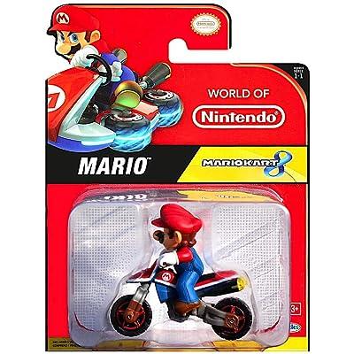 Mario Motorcycle Super Mario Kart 8 Vehicle: Toys & Games