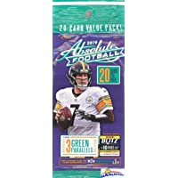 2019 Panini Absolute NFL Football Factory Sealed JUMBO FAT Pack with 20 Cards Including (3) EXCLUSIVE GREEN PARALLELS! Look for RCs & Autos of Kyler Murray, Daniel Jones, Josh Jacobs & More! WOWZZER!