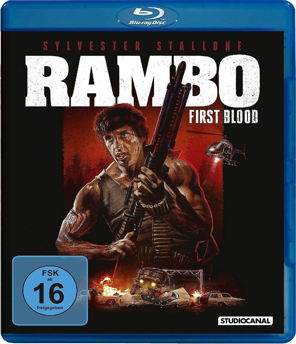 Rambo - First Blood [Italia] [Blu-ray]: Amazon.es: Stallone, Sylvester, Crenna, Richard, Dennehy, Brian, Caruso, David, Starrett, Jack, Kotcheff, Ted, Stallone, Sylvester, Crenna, Richard: Cine y Series TV