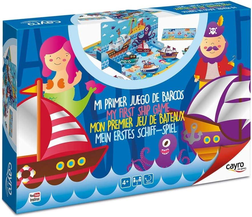 Cayro - Mi Primer Juego de Barcos- Juego de observación y lógica - Juego de Mesa - Desarrollo de Habilidades cognitivas e inteligencias múltiples - Juego de Mesa (167): Amazon.es: Juguetes y juegos