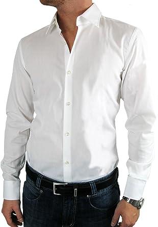 Hugo Boss - Camisa formal - Ajustado - para hombre Weiß extra ...
