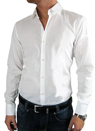 sports shoes 5560a 257f5 Hugo Boss Business-Hemd Jenno (Slim Fit) weiß/white