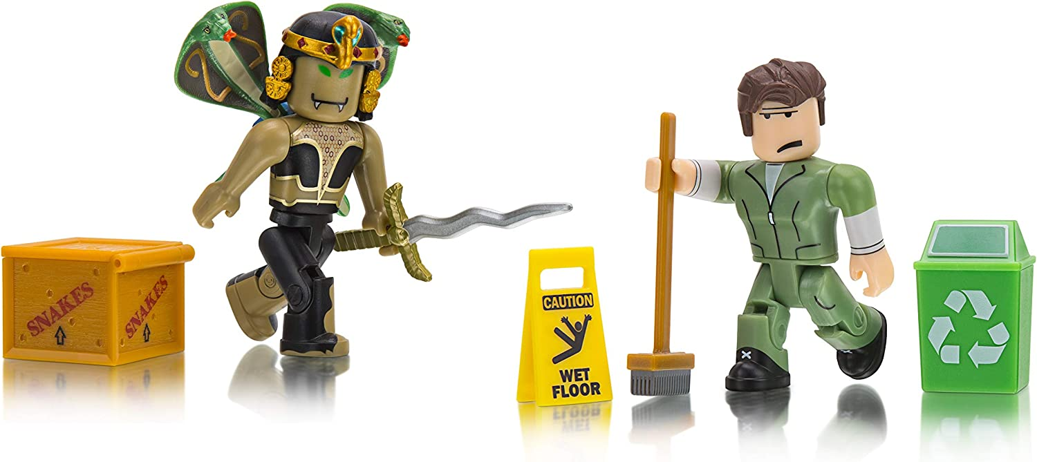 Roblox Celebrity Collection Nefertiti The Sun Queen And Welcome To Bloxburg Glen The Janitor Two Figure Pack Figures Amazon Canada