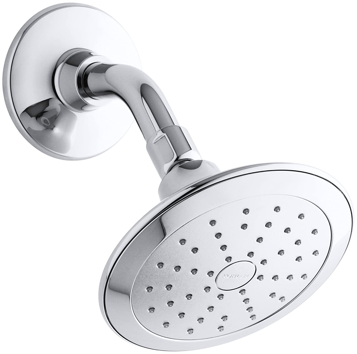 KOHLER 5240-CP Alteo Single Function Wall Mount Showerhead with ...