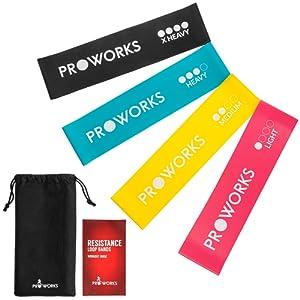 Proworks Elastique De RŽsistance Bande I Pour ActivitŽs Sportives Intenses,  Gymnastiques, Musculation, Yoga 564bd07e41e