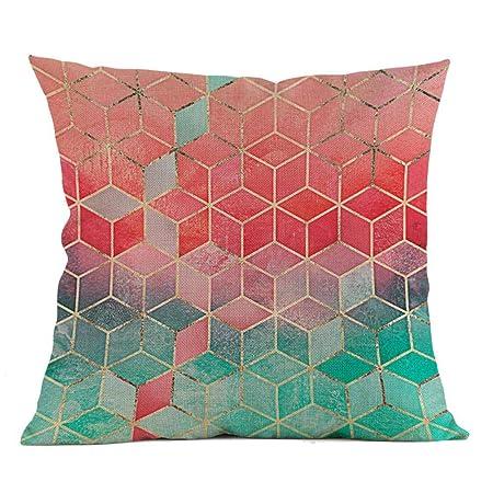 VJGOAL Moda impresión geométrica cómoda Almohada Cintura ...