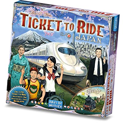 Ticket to Ride: Japan and Italy Map Collection: Toys & Games