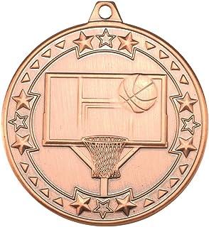 Basket-Ball 'Tri Star' Médaille–Bronze 2en Lot DE 10
