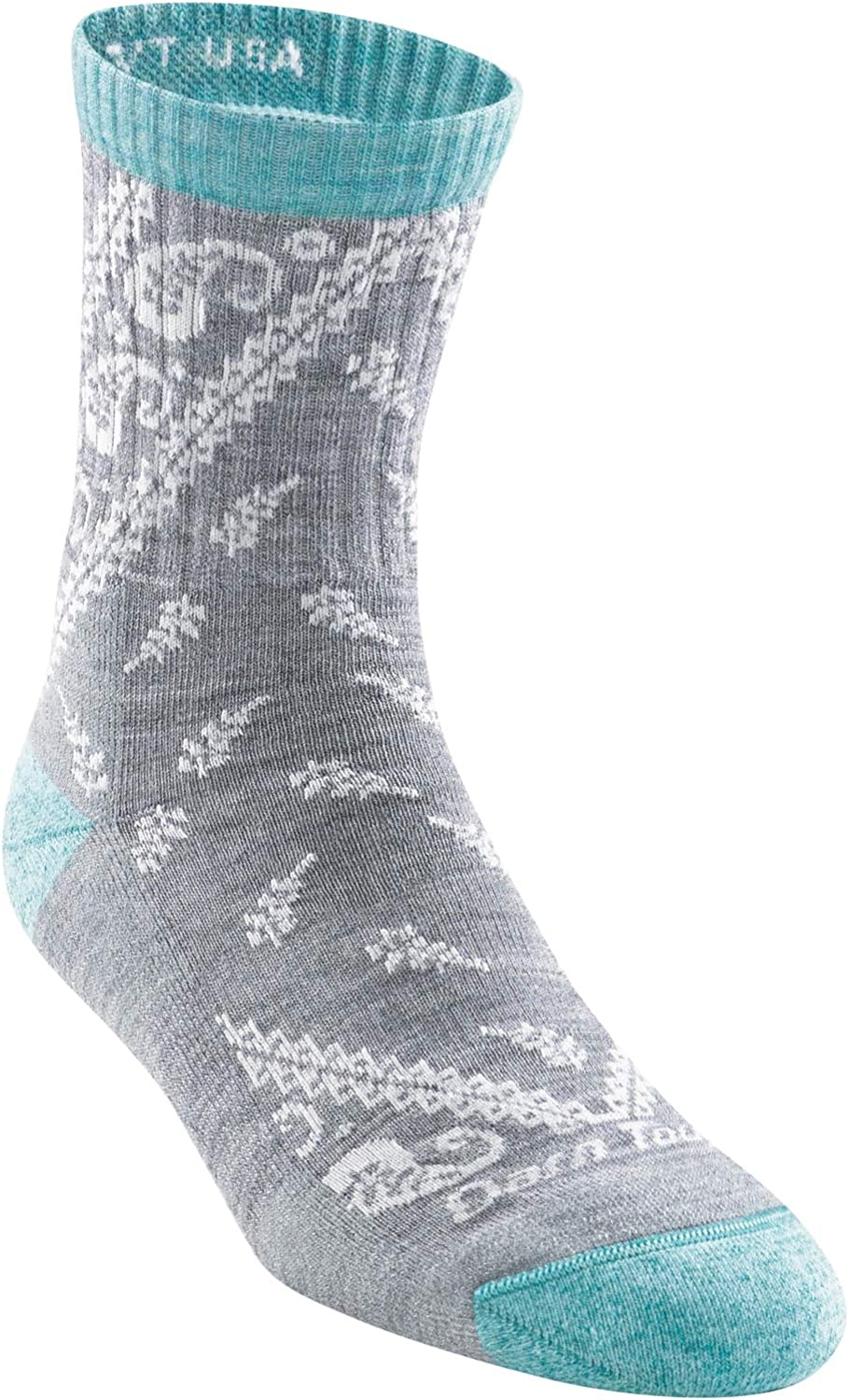 Womens Darn Tough Janis Micro Crew Midweight Sock with Cushion