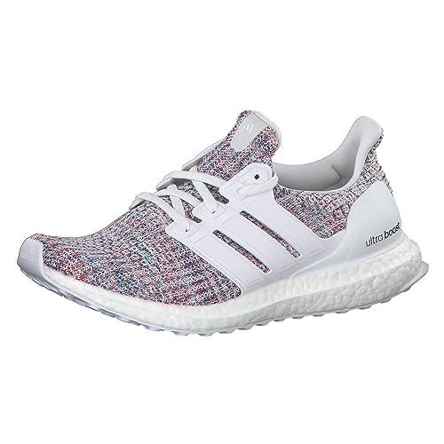 best website 0d510 6c859 adidas Ultraboost W, Scarpe da Running Donna, Bianco Ftwr White Active Red,