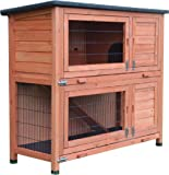 FeelGoodUK Rabbit Hutch and Cover with Rain Cover
