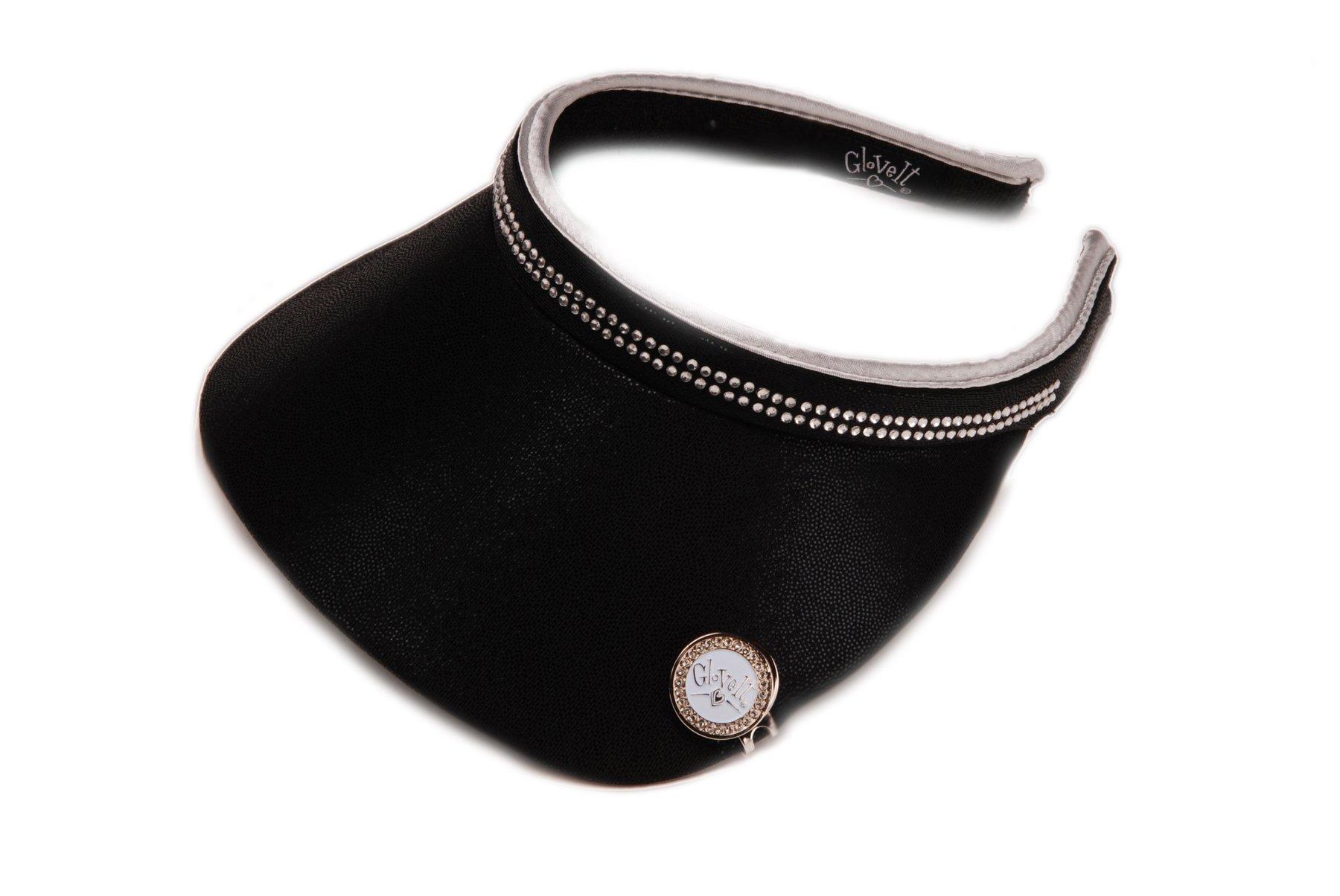 Glove It Women's Bling Visor (Black Bling) by Glove It