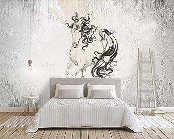 yishuqiang papel pintado mural 3d Wallpaper abstracto cemento ...
