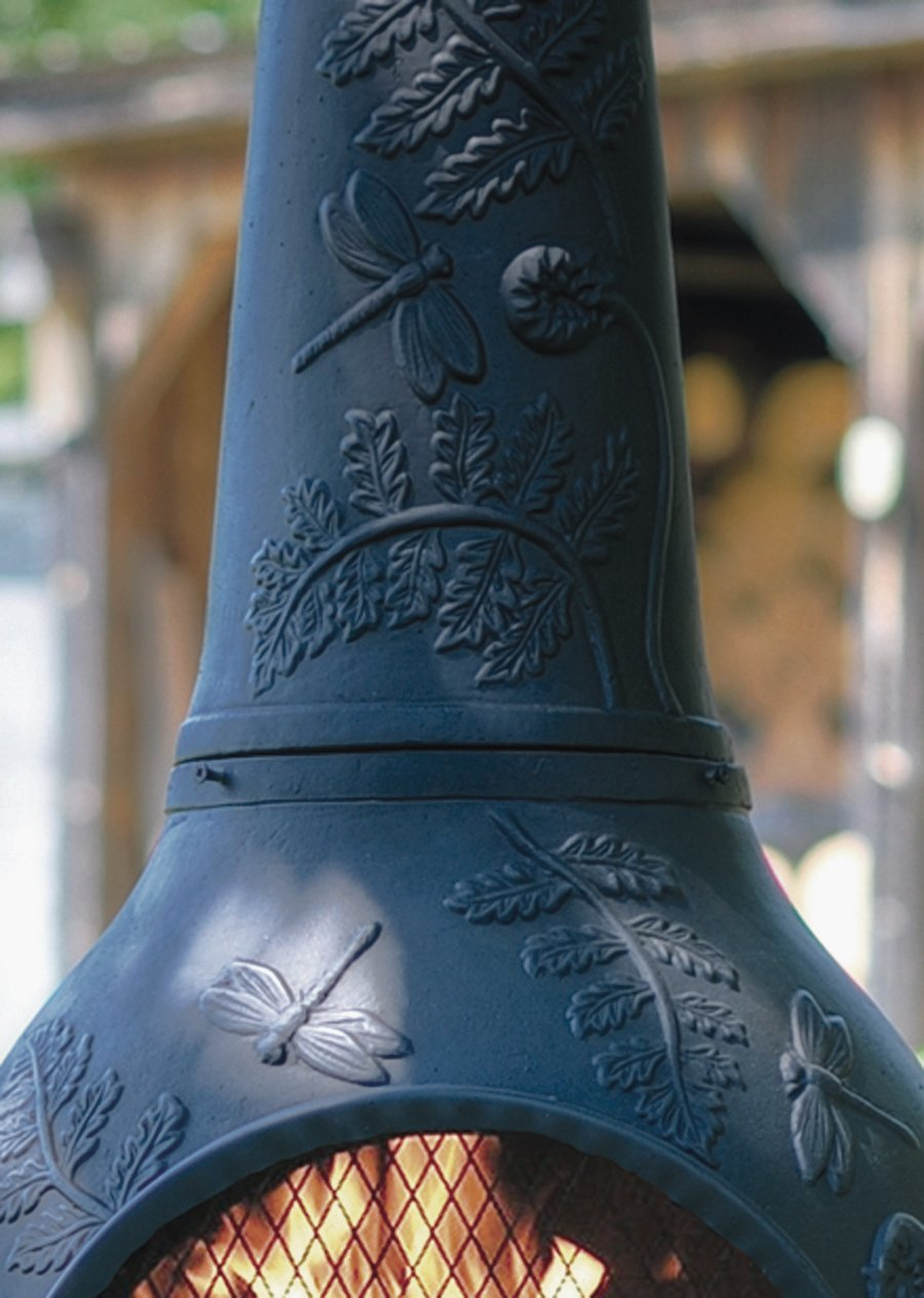 amazon com the blue rooster co dragonfly style cast aluminum
