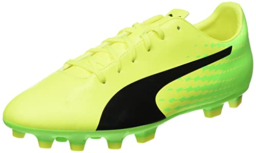 Puma Botas de Fútbol de Material Sintético Para Hombre Amarillo Amarillo, Color Amarillo, Talla 35,5
