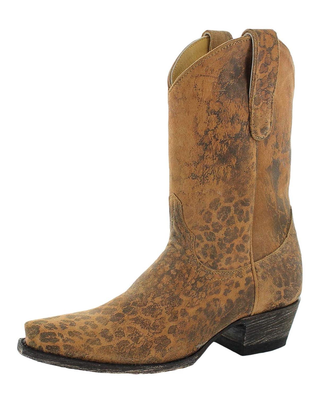 067e857fd77 Amazon.com | Old Gringo Yippee Ki Yay Women's Leopardito YP Western ...