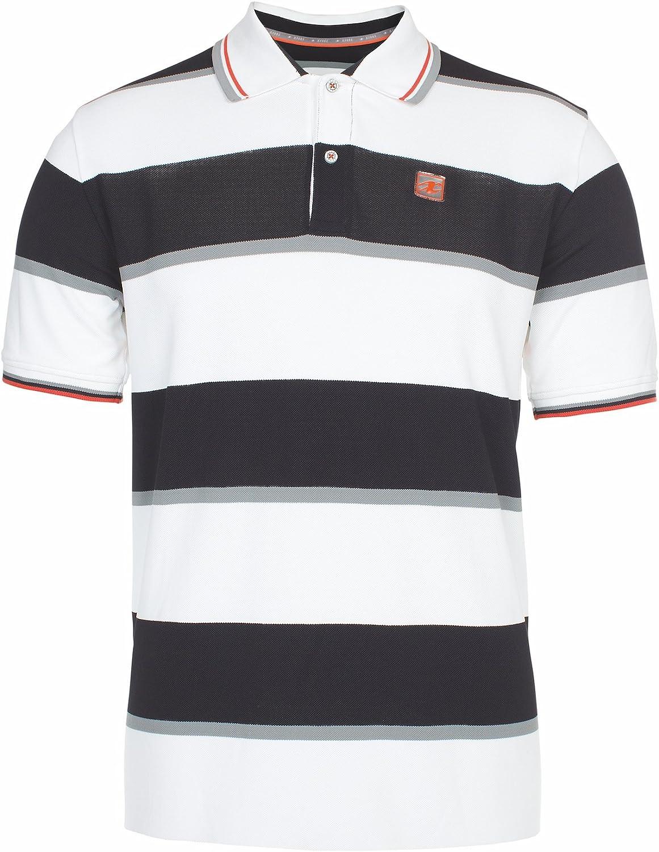 Xfore Camiseta Performance Polo de Golf a Rayas Luton para Hombre ...