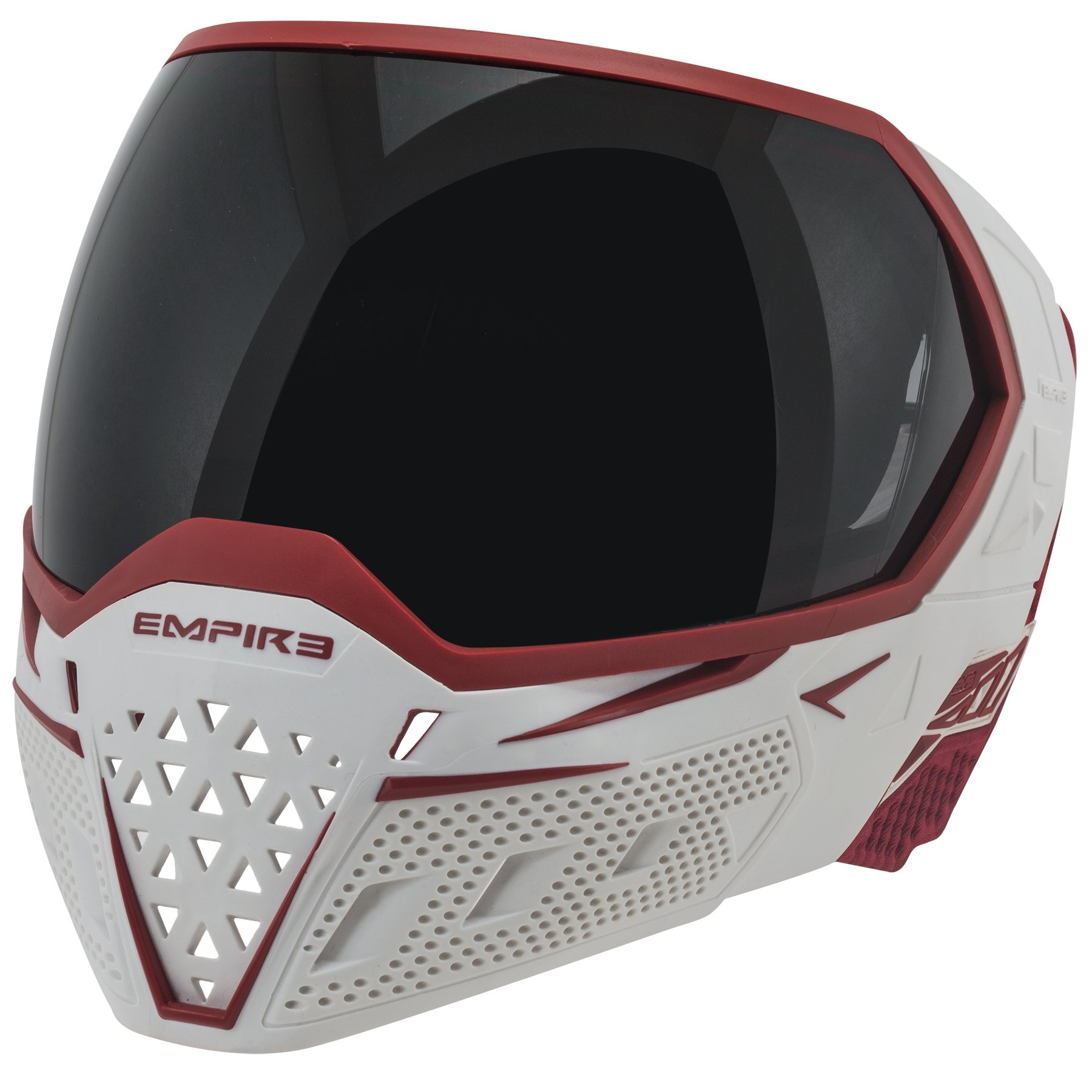 Empire EVS Thermal Paintball Goggles - White / Red by Empire