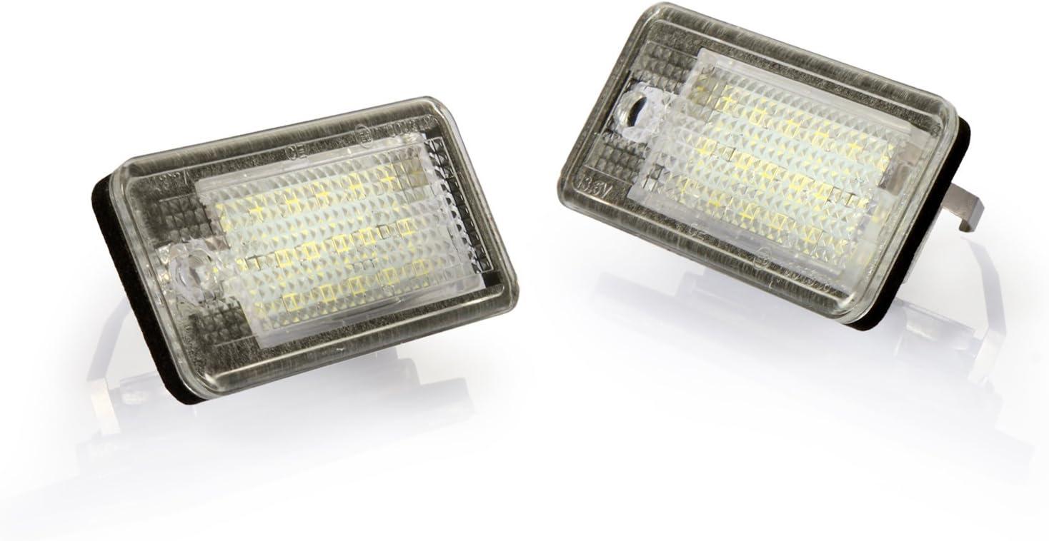 Dromedary 2Stk 8E0807430A Kennzeichen Beleuchtung Kennzeichenleuchte A4 8E2 B6 A6 4F2 C6 A8 4E Q7 4L