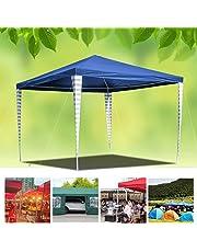 Hengda 3x3m Carpas Pabellón Estable Carpa para Fiesta toldo Impermeables Gazebo Estable fácil de desplegar Costuras