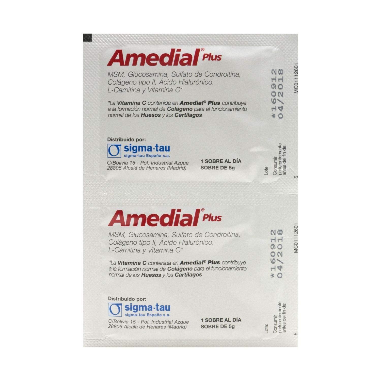 Amazon.com: Sigma Tau Amedial Plus 20 Satchels - Tratamiento ...