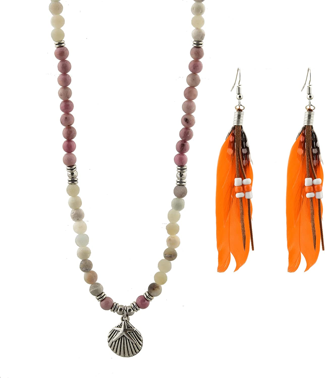 NecklaceNecklaces for WomenStonesStone NecklaceStone Necklace WomenStone PendantStone Pendant NecklaceRhodochrosite Necklace