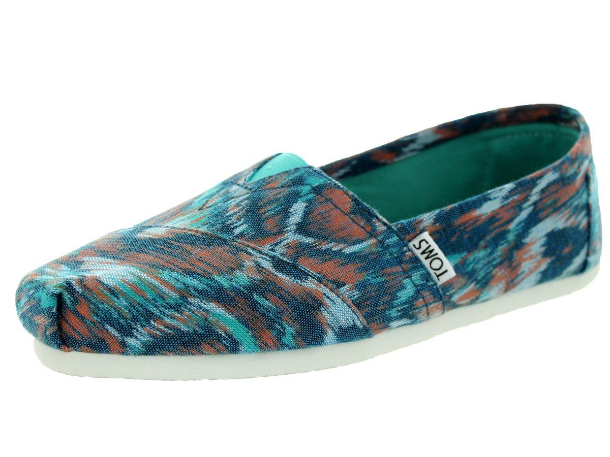 [トムス] TOMS  TOMS WOMENS CLASSIC UNIVERSITY B010PKGRP6 Turquoise Multi Ikat 6.5 B(M) US