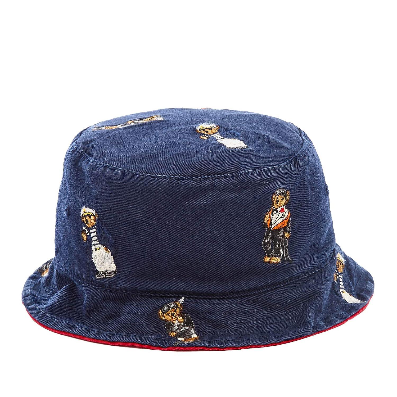 df71e141290 Polo Ralph Lauren Men`s Reversible Bucket Hat at Amazon Men s Clothing  store