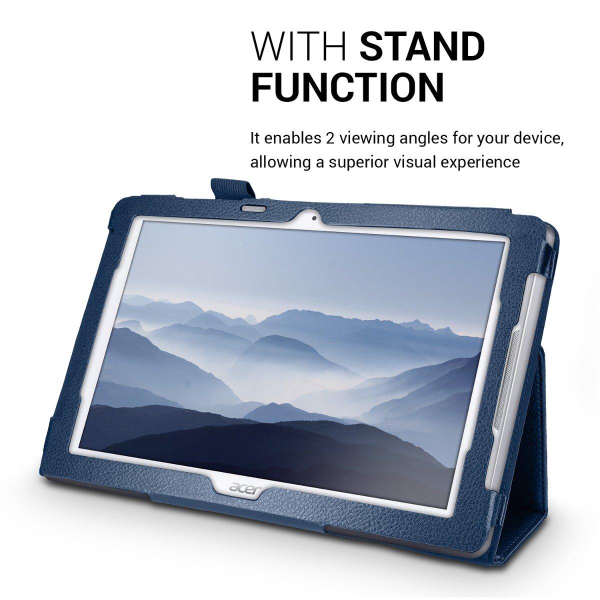 kwmobile Funda para Acer Iconia One 10 (B3-A30) - Carcasa plegable ...