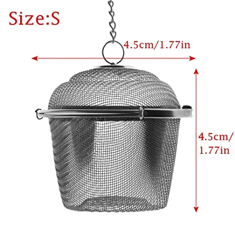 Amazon.com: Culturemart - 1 cesta de acero inoxidable para ...