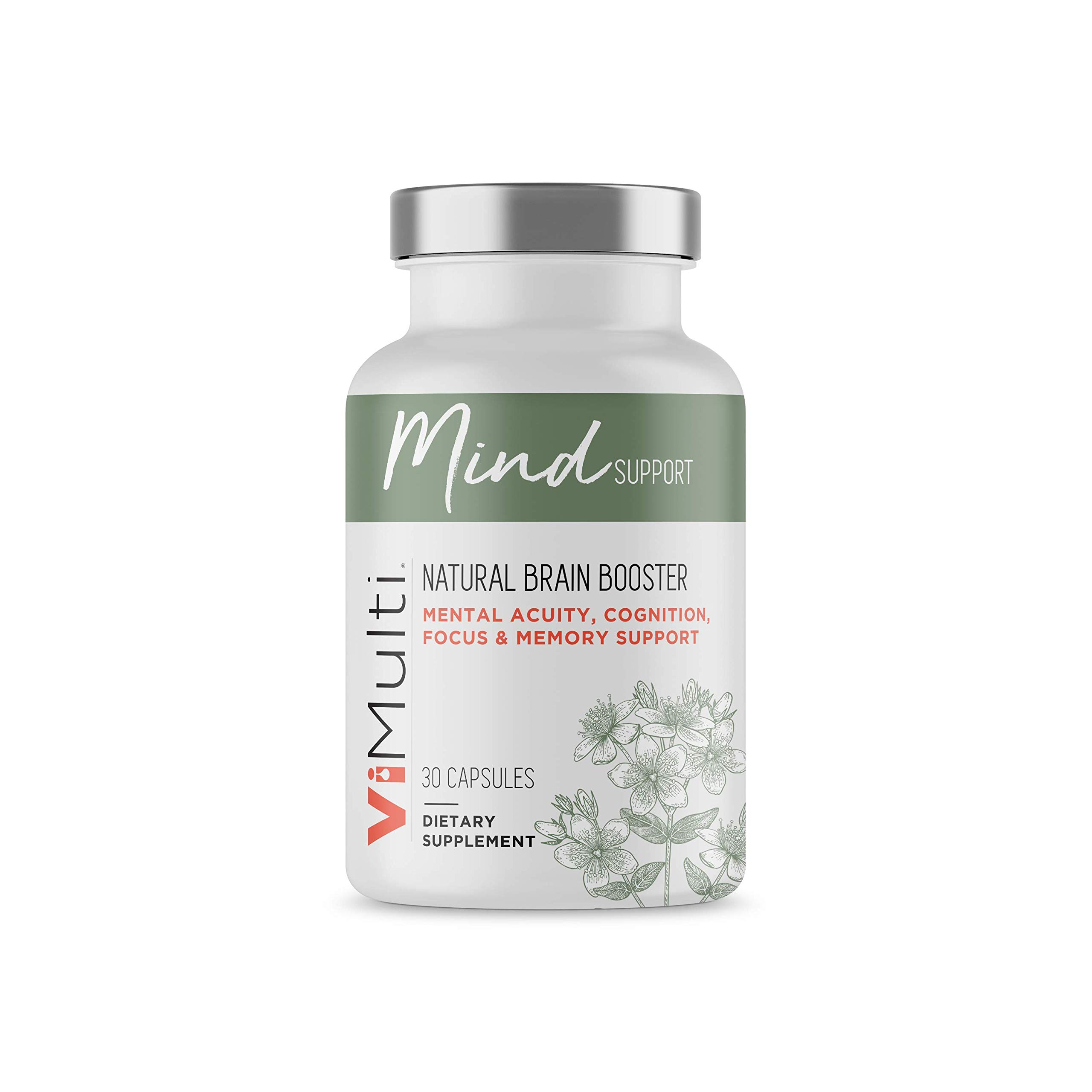 ViMulti Mind Support - Supplements for Improved Concentration, Focus, Memory and Overall Brain Function