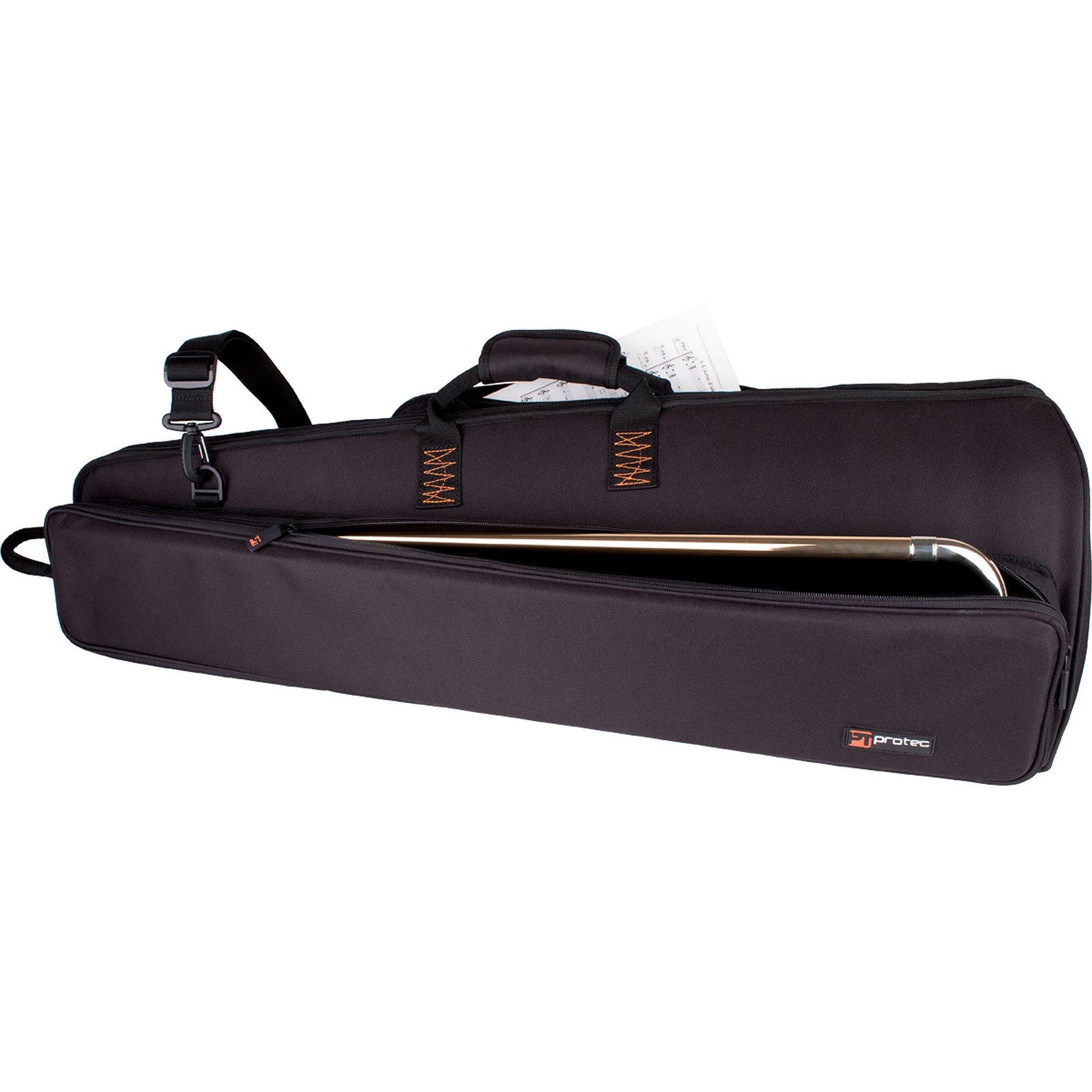 Pro Tec Trombone Explorer Gig Bag with Sheet Music Pocket (C239X)