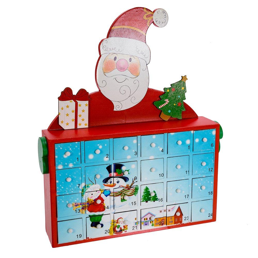 Kurt S. Adler 12' Santa Advent Calendar Inc. C5856