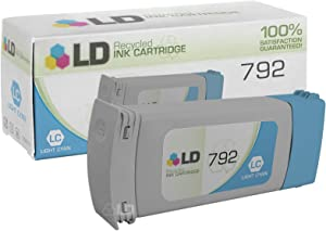 LD Remanufactured Ink Cartridge Replacement for HP 792 CN709A (Light Cyan)