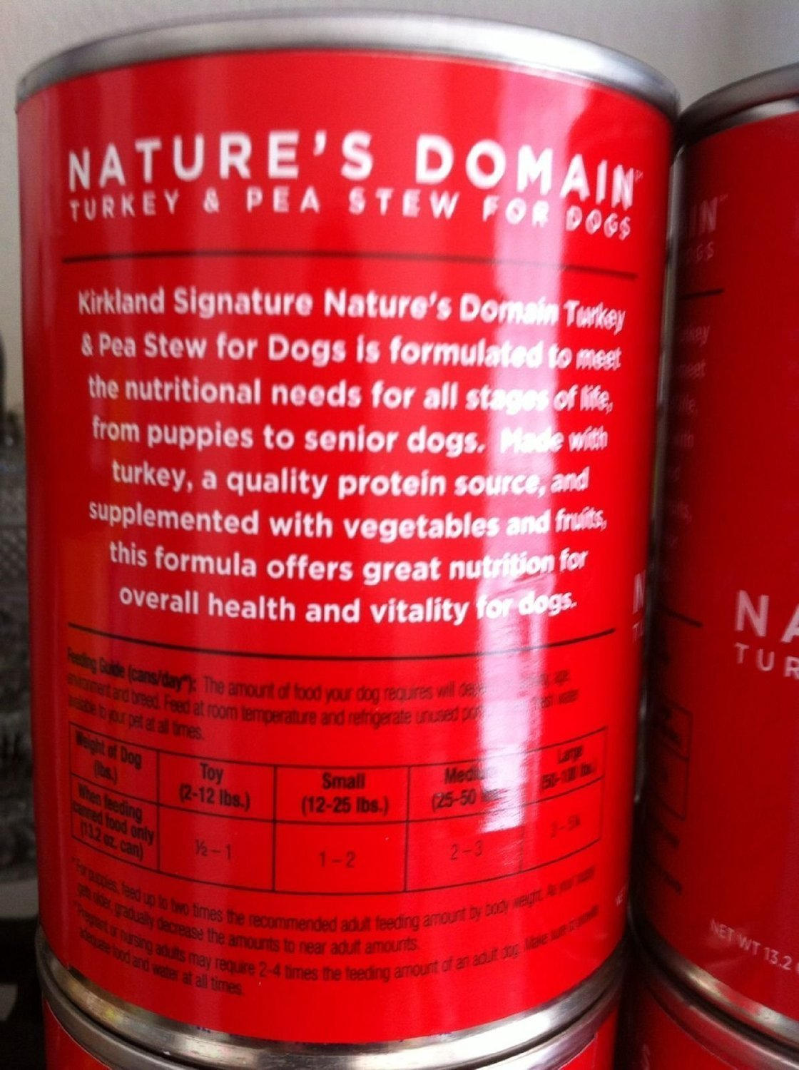 Kirkland Nature S Domain Canned Dog Food