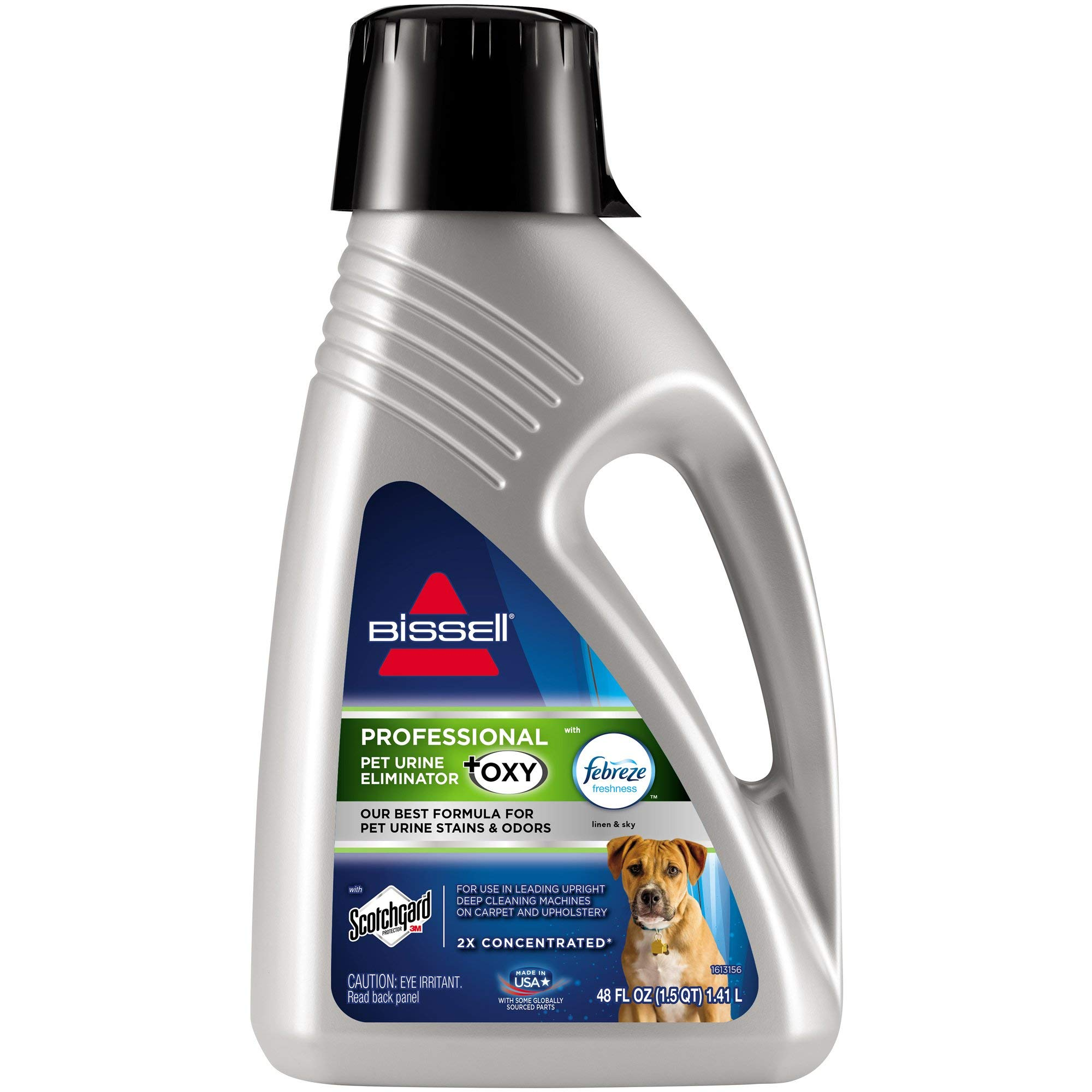 BISSELL Professional Pet Urine Elimator with Oxy and Febreze Carpet Cleaner Shampoo (Renewed) by Bissell