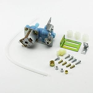 (RB)WV8047 Refrigerator Icemaker Water Solenoid Valve for 4318047 Whirlpool Kenmore