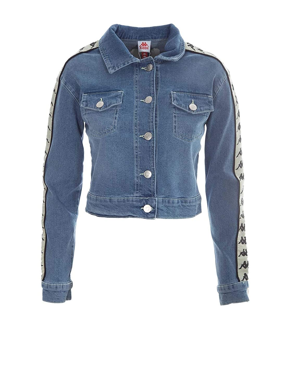 Kappa Women's 304KM50900 Light bluee Cotton Jacket