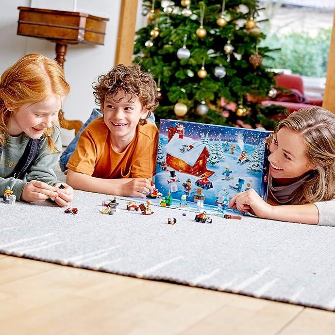LEGO 乐高 City 城市系列 60235 圣诞倒数日历 积木玩具 2019年新版 6.7折$19.99史低 海淘转运到手约¥166