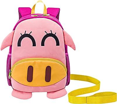 Mochila Infantil GUHEE Mochila con arnés Zoo impermeable bolso ...