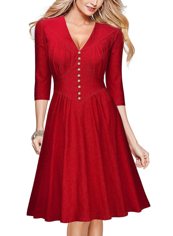 Fein Vintage Rotes Cocktailkleid Bilder - Hochzeit Kleid Stile Ideen ...