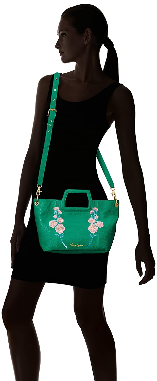 Foley Corinna Flowerbed Creek Cut Out Handle Tote