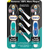 Arm & Hammer Spinbrush Truly Radiant Battery Toothbrush Value Pack
