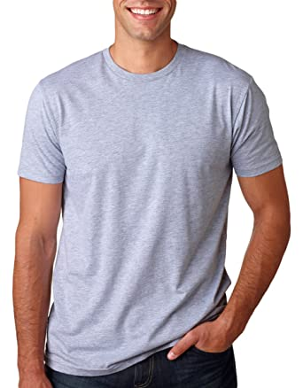 409afed6001a2 Amazon.com: Next Level Mens Premium Fitted Short-Sleeve Crew T-Shirt:  Clothing