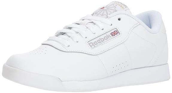 Amazon.com | Reebok Womens Princess Fashion Sneakers White | Fashion Sneakers