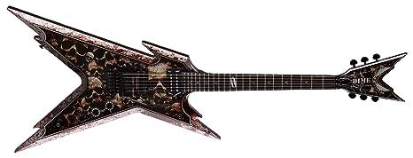 Dean Guitars Razorback Skullz - Guitarra eléctrica (incluye funda)