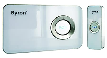 Byron MP001 100m Mp3 Wireless Door Chime with 32 Pre-Loaded Sounds  sc 1 st  Amazon UK & Byron MP001 100m Mp3 Wireless Door Chime with 32 Pre-Loaded Sounds ...