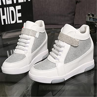 WomenS High Heels Casual Shoes WomenS Height Increased Platform Shoes Zapatillas ...