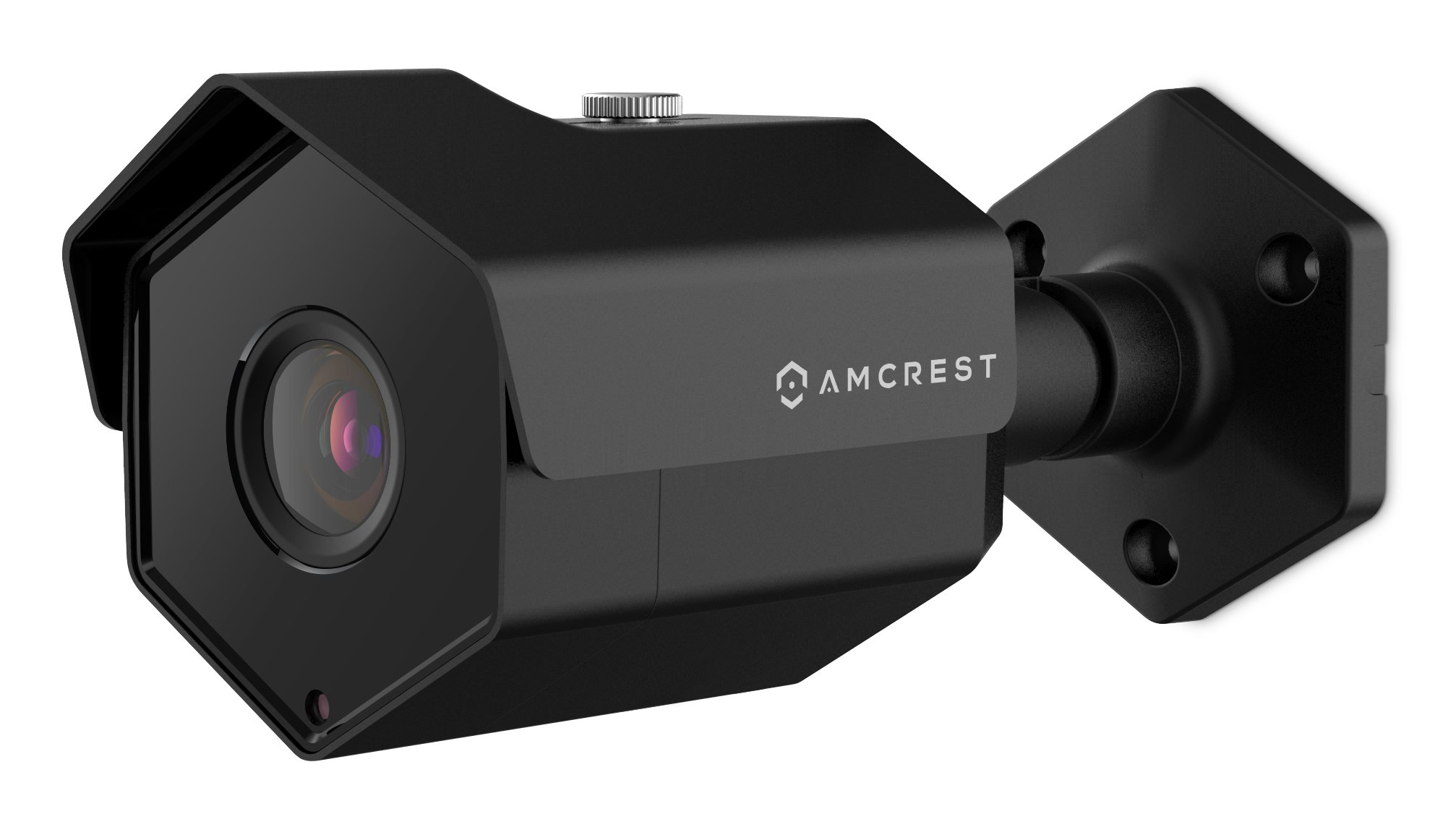 Amcrest ProHD Outdoor 4 Megapixel POE Bullet IP Security Camera - IP67 Weatherproof, 4MP (2688 TVL), IP4M-1026E (Black)