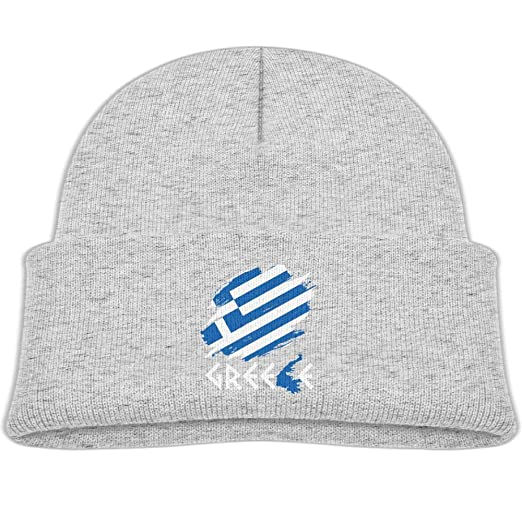 rhfjgk ldjg Interesting Greek Winter Knitted Hats Baby Fleece Beanies Cap  Girl fb11e38247c